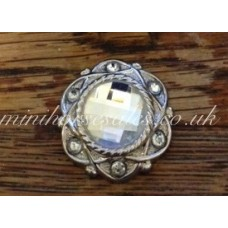 Diamond & Silver Stock Pin