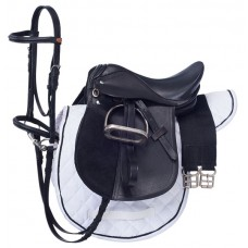 English Saddle & Bridle set