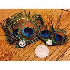 Twin set Peacock