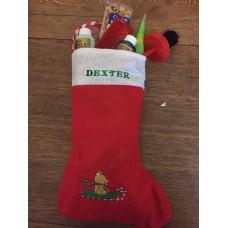 Personalised stuffed stocking